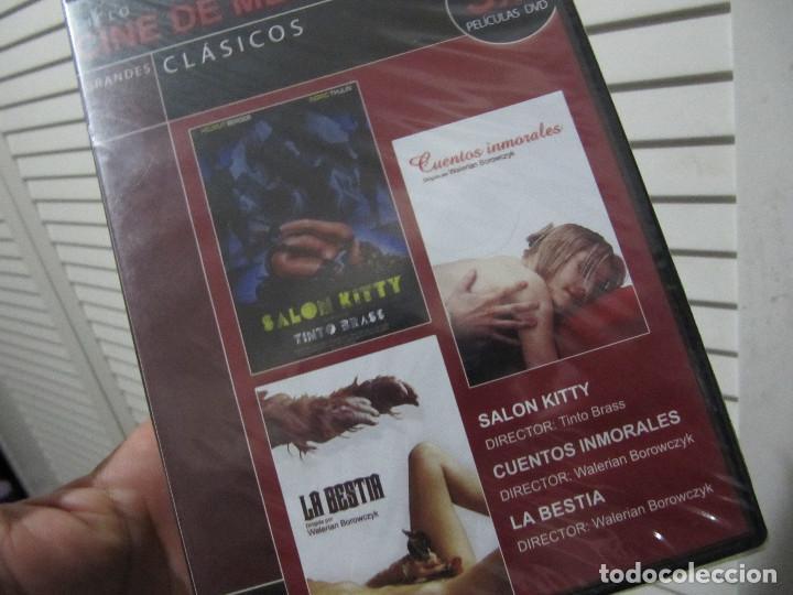 Peliculas: lote de 9 peliculas eroticas en 3 dvds-cine de medianoche-precintadas - Foto 4 - 107050002