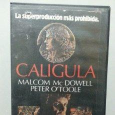 Peliculas: CALIGULA - VERSION INTEGRA - VHS. Lote 77345621