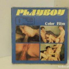 Peliculas: PELÍCULA PORNOGRÁFICA EN SUPER 8 MM. - PLAYBOY - INTERNATIONAL SEX SHOPS HOLDING - AÑOS 70. Lote 82023500