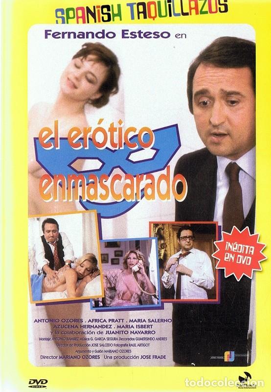 DVD EL ERÓTICO ENMASCARADO FERNANDO ESTESO (Coleccionismo para Adultos - Películas)