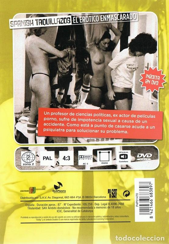 Peliculas: DVD EL ERÓTICO ENMASCARADO FERNANDO ESTESO - Foto 2 - 86356164
