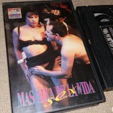 Peliculas: MAS ALLA DE LA VIDA SEX- VHS- MARIO SALIERI. Lote 90133218