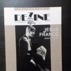 Peliculas: DEZINE NUM.4 NOVIEMBRE 1991 JESUS FRANCO PLANETA PORNO FU-MANCHÚ DRÁCULA VAMPYR CUADECUC. Lote 97296563