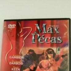 Peliculas: PORNOLUJURIA, DE MAX PECAS, ERÓTICA.. Lote 97574632