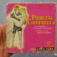 Peliculas: PRINCES CINDERELLA (LA CENICIENTA) PELÍCULA -8 MM-RETRO VINTAGE FILM. Lote 100232359