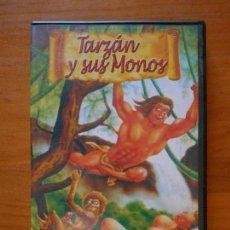 Peliculas: DVD TARZAN Y SUS MONOS - PORNO ANIMADO (D6). Lote 101448875