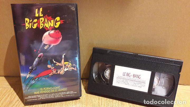 LE BIG BANG. EL PORNO-COMIC MÁS VENDIDO EN EL MUNDO. VHS / NEW STAR / BUENA CALIDAD. (Coleccionismo para Adultos - Películas)