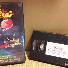 Peliculas: LE BIG BANG. EL PORNO-COMIC MÁS VENDIDO EN EL MUNDO. VHS / NEW STAR / BUENA CALIDAD.. Lote 102620611