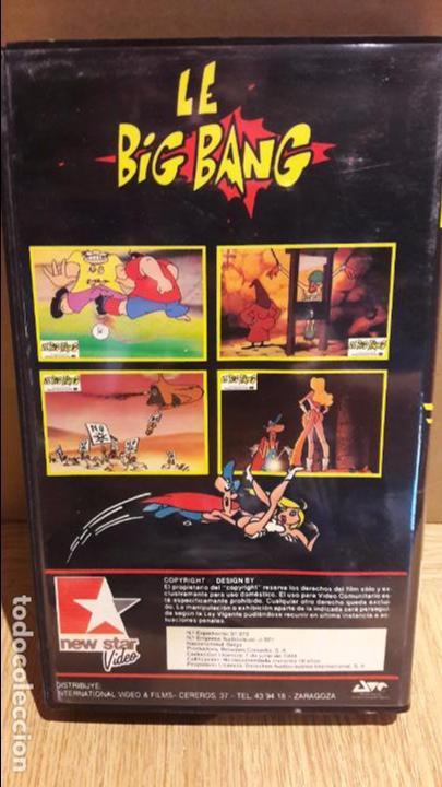 Peliculas: LE BIG BANG. EL PORNO-COMIC MÁS VENDIDO EN EL MUNDO. VHS / NEW STAR / BUENA CALIDAD. - Foto 3 - 102620611