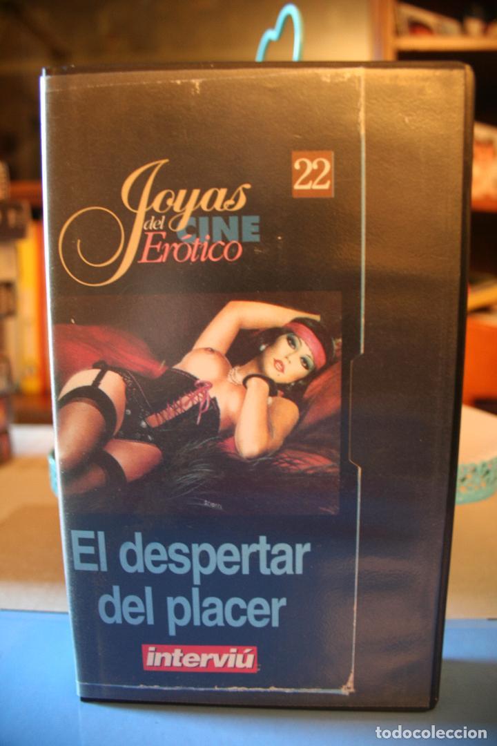 EL DESPERTAR DEL PLACER *** JOYAS DEL CINE EROTICO Nº 22 (INTERVIU) *** VHS SEXO (Coleccionismo para Adultos - Películas)