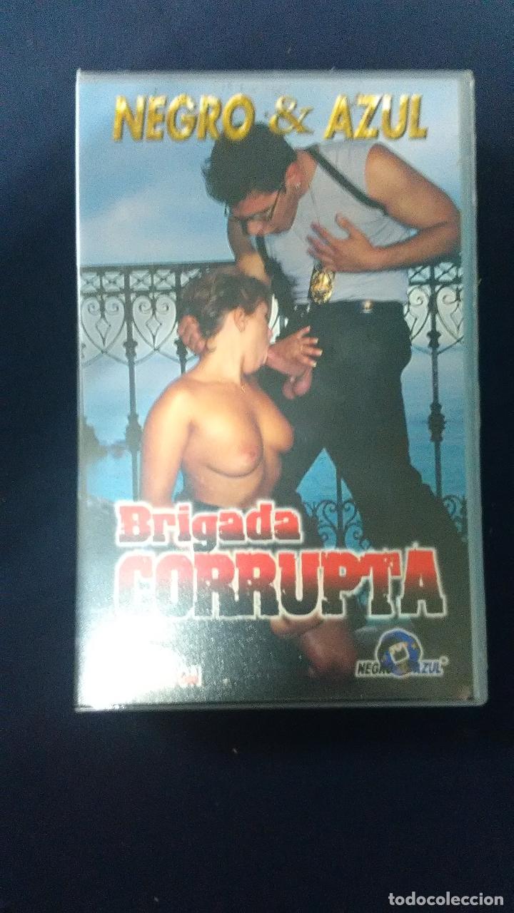 Peliculas Porno De Negro Y Azul vhs negro y axul brigada corrupta - sold through direct sale