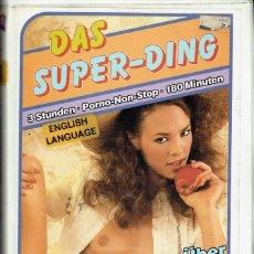 Film: DAS SUPER-DING. Lote 118074967
