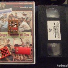 Peliculas: VHS - JUEGOS MUNDIALES DEL SEXO - INGA , KRISTIANA , DORTE KIRSTEN - PAPILLON. Lote 119604399
