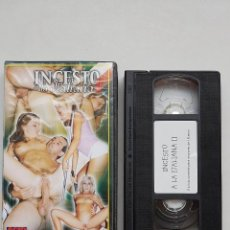 Peliculas: VHS - INCESTO A LA ITALIANA 2 II - ANDY CASANOVA - ACID SEX LLAMENTOL . Lote 120625255