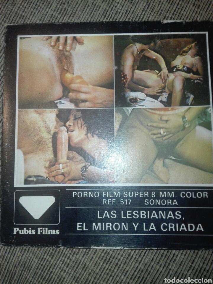 PELICULA SUPER 8 PORNO FILM LAS LESBIANAS,EL MIRON Y LA.CRIADA (Coleccionismo para Adultos - Películas)