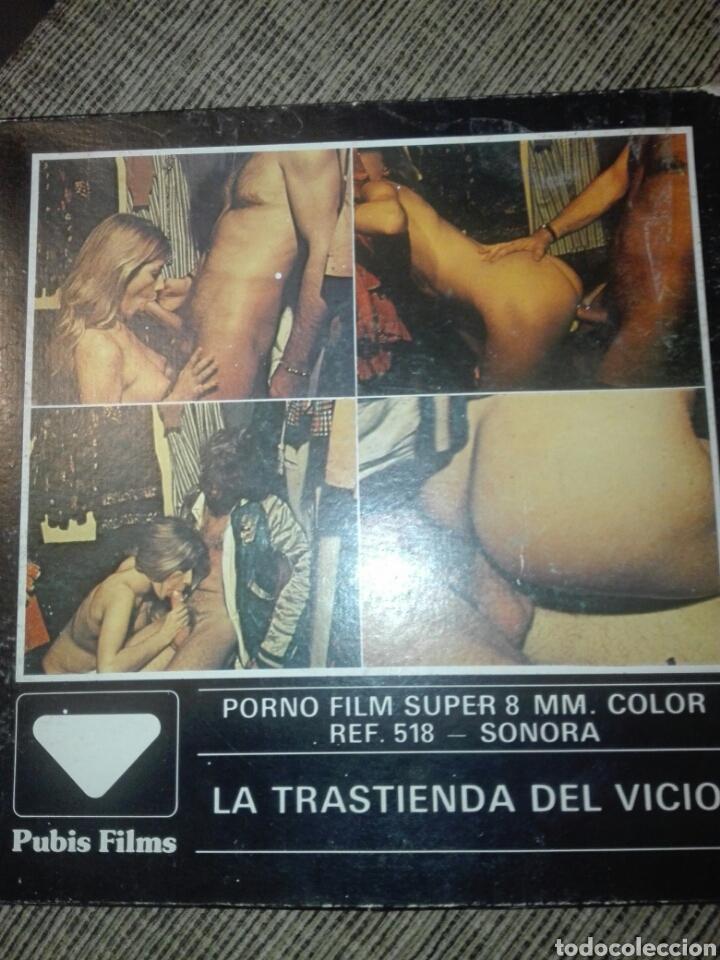 PELICULA SUPER 8 PORNO FILM LA TRASTIENDA DEL VICIO (Coleccionismo para Adultos - Películas)