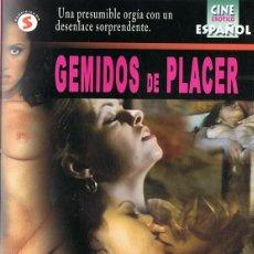 Peliculas: GEMIDOS DE PLACER. Lote 128908547
