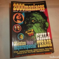 Peliculas: 2000 MANIACOS Nº 22, CHILI TERROR, MEXICO LOCO SUPERESPECIAL, VAMPIRAS FRONTERIZAS, PORNO TEX-MEX. Lote 139944270