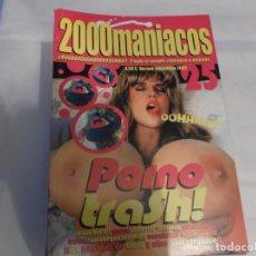 Peliculas: 2000 MANIACOS Nº 25, PORNO TRASH, TOMATES ASESINOS, PORNOS INFIERNO, SINVERGONZONERIAS, CINE. Lote 139945238