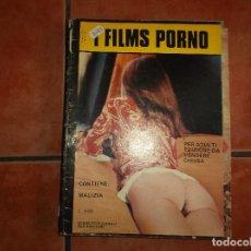 Peliculas: SUPLEMENTO SEXY FILMS, FILMS PORNO FOTONOVELA, CINE PORNO Y EROTICO ,. Lote 144950450