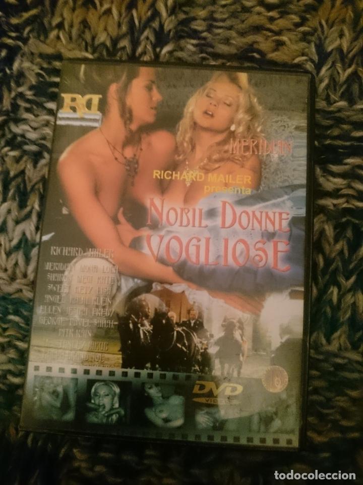 DVD PELICULA EROTICA - NOBIL DONNE VOGLIOSE -EN ESPAÑOL -VER FOTOS -REFESCDSENALARHAMI (Coleccionismo para Adultos - Películas)
