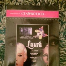 Peliculas: DVD PELICULA EROTICA - LAURA --REFESCDSENALARHAMI. Lote 145554178