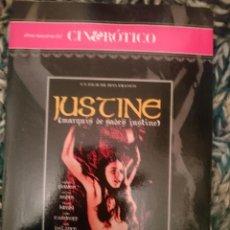 Peliculas: DVD PELICULA EROTICA - JUSTINE --REFESCDSENALARHAMI. Lote 145554218