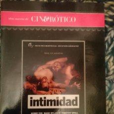 Peliculas: DVD PELICULA EROTICA - INTIMIDAD SEXO SIN PALABRAS -CON KERRY FOX -MARC RYLANCE -TIMOTHY SPALL. Lote 145554246