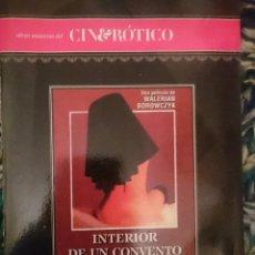Peliculas: DVD PELICULA EROTICA - INTERIOR DE UN CONVENTO -CON LIGIA BRANICE - MARINA PIERRO --REFESCDSENAL. Lote 145554250