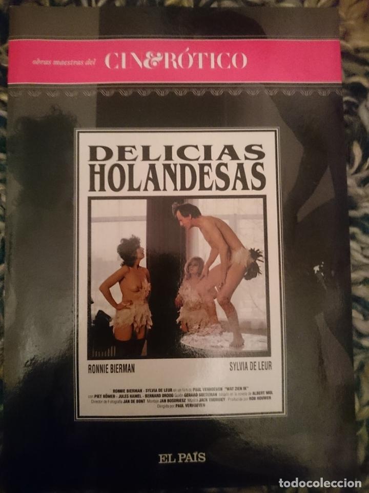 DVD PELICULA EROTICA - DELICIAS HOLANDESAS --REFESCDSENALARHAMI (Coleccionismo para Adultos - Películas)