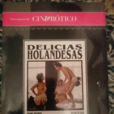 Peliculas: DVD PELICULA EROTICA - DELICIAS HOLANDESAS --REFESCDSENALARHAMI. Lote 145554314