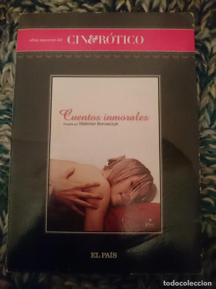 DVD PELICULA EROTICA - CUENTOS INMORALES --REFESCDSENALARHAMI (Coleccionismo para Adultos - Películas)