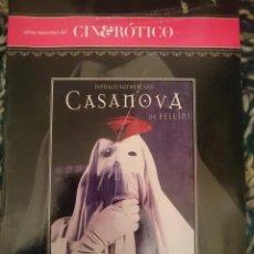 Peliculas: DVD PELICULA EROTICA - CASANOVA --REFESCDSENALARHAMI. Lote 145554338