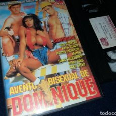 Peliculas: AVENTURA BISESUAL DE DOMINIQUE- VHS-. Lote 145744968