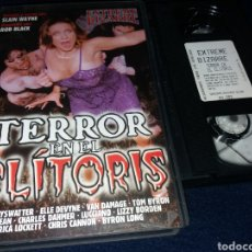 Peliculas: TERROR EN EL CLITORIS- VHS- EXTREME BIZARRE, DR. KEY FLYSWATTER, ELLE DEVYNE, VAN DAMAGE, TOM BYRON,. Lote 243792420