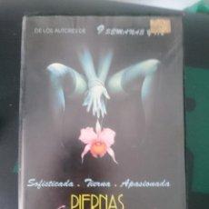 Peliculas: VHS PIERNAS DE TERCIOPELO - BLUE MOVIE BLUE - PELICULA EROTICA. Lote 150678242