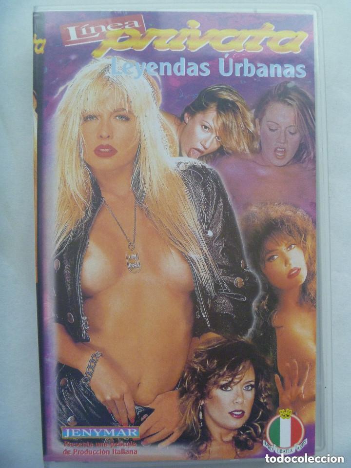 CINTA DE VIDEO X : LINEA PRIVATA , LEYENDAS URBANAS. (Coleccionismo para Adultos - Películas)