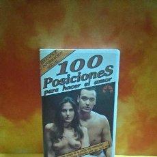Peliculas: 100 POSICIONES PARA HACER EL AMOR, CINTA VHS. Lote 152061702