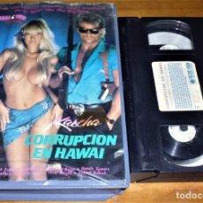 Peliculas: CORRUPCION EN HAWAI . EQUIS - VHS . Lote 155656350