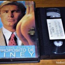 Peliculas: A PROPOSITO DE HINEY . EQUIS - VHS. Lote 155657986