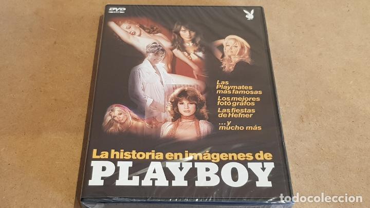 LA HISTORIA EN IMÁGENES DE PLAYBOY / 116 MINUTOS / DVD - PRECINTADO. (Coleccionismo para Adultos - Películas)