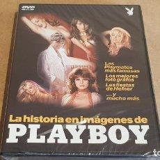 Peliculas: LA HISTORIA EN IMÁGENES DE PLAYBOY / 116 MINUTOS / DVD - PRECINTADO.. Lote 157258950
