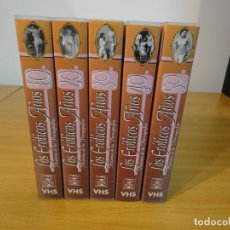 Peliculas: VHS. HISTORIA DE LA PORNOGRAFÍA. LOS EROTICOS AÑOS 10 AL 50 (SAV, AÑOS 90) 5 CINTAS. Lote 160865006