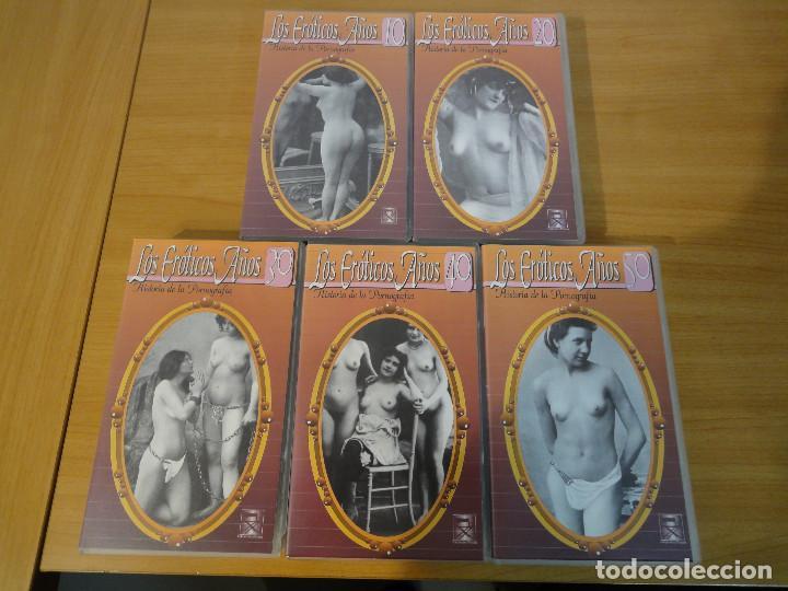 Peliculas: VHS. Historia de la pornografía. Los eroticos años 10 al 50 (SAV, Años 90) 5 Cintas - Foto 2 - 160865006