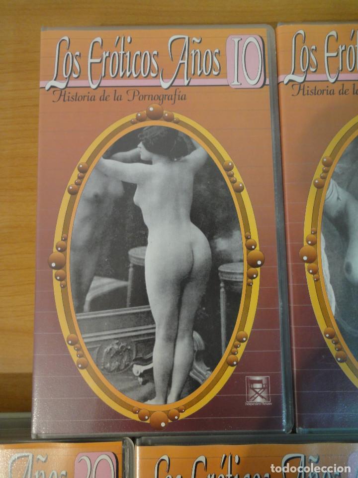 Peliculas: VHS. Historia de la pornografía. Los eroticos años 10 al 50 (SAV, Años 90) 5 Cintas - Foto 3 - 160865006