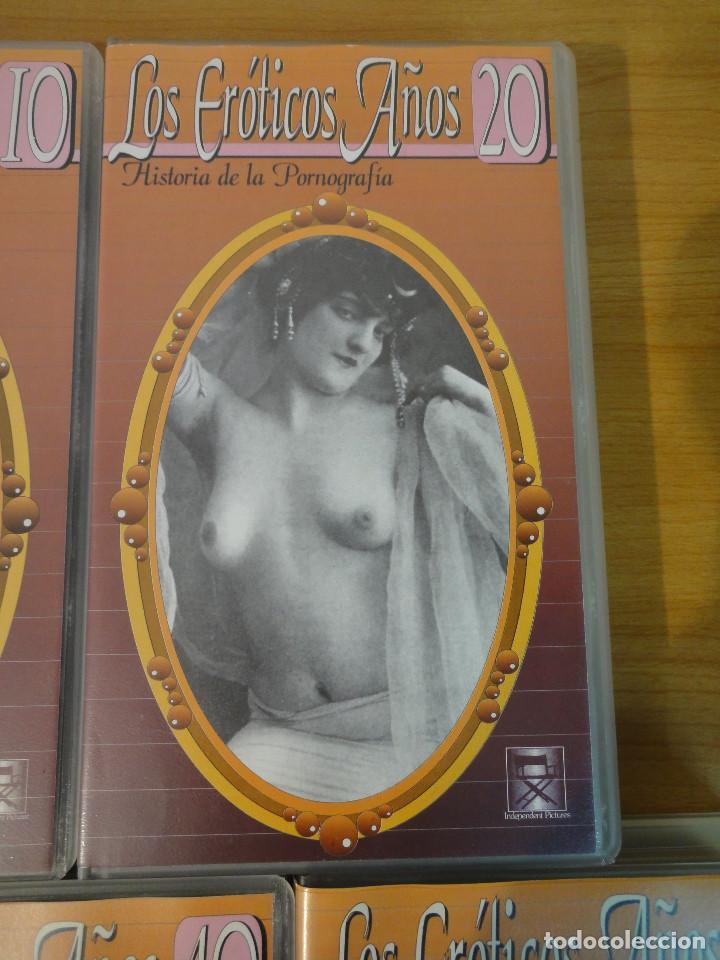 Peliculas: VHS. Historia de la pornografía. Los eroticos años 10 al 50 (SAV, Años 90) 5 Cintas - Foto 4 - 160865006