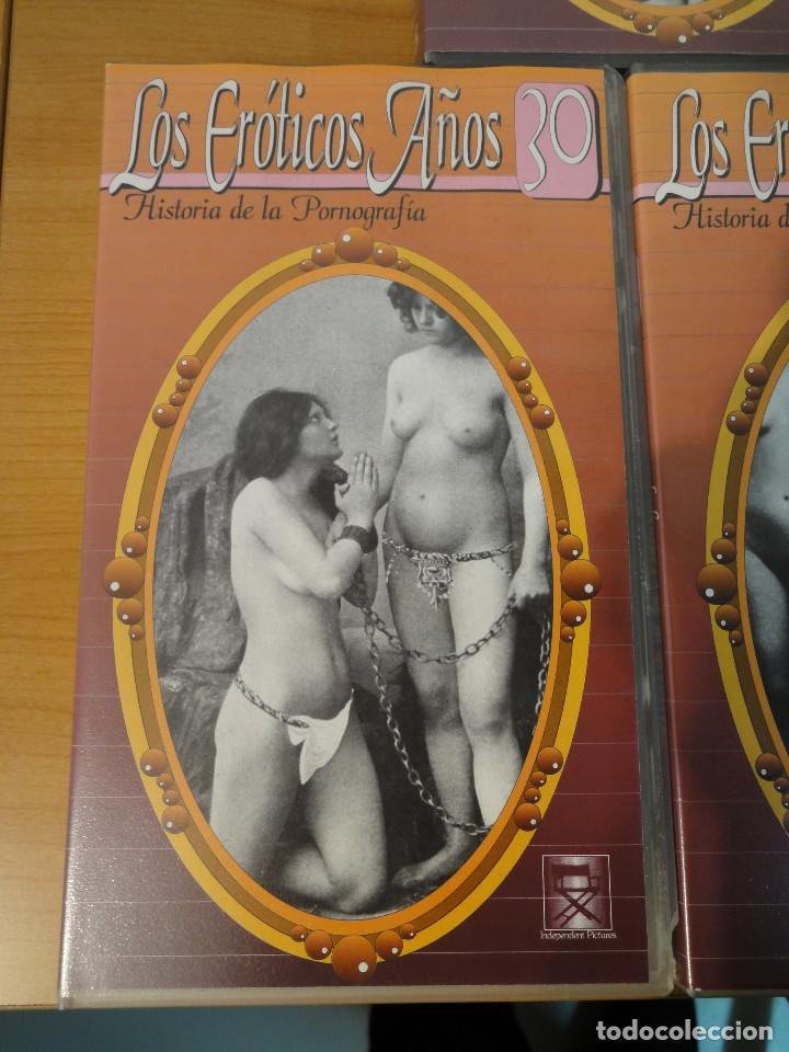 Peliculas: VHS. Historia de la pornografía. Los eroticos años 10 al 50 (SAV, Años 90) 5 Cintas - Foto 5 - 160865006