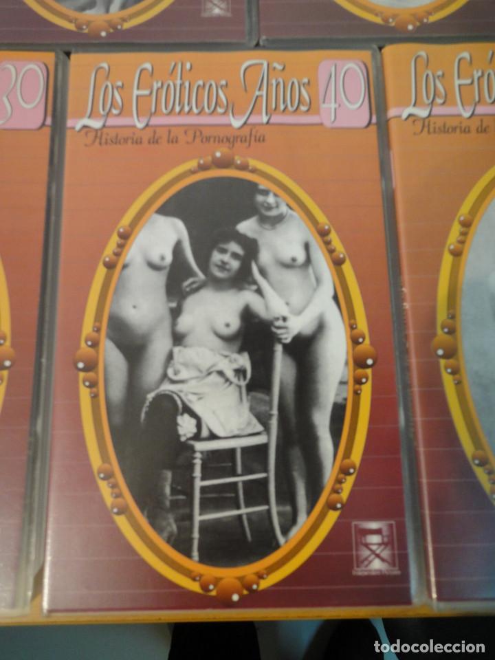 Peliculas: VHS. Historia de la pornografía. Los eroticos años 10 al 50 (SAV, Años 90) 5 Cintas - Foto 6 - 160865006