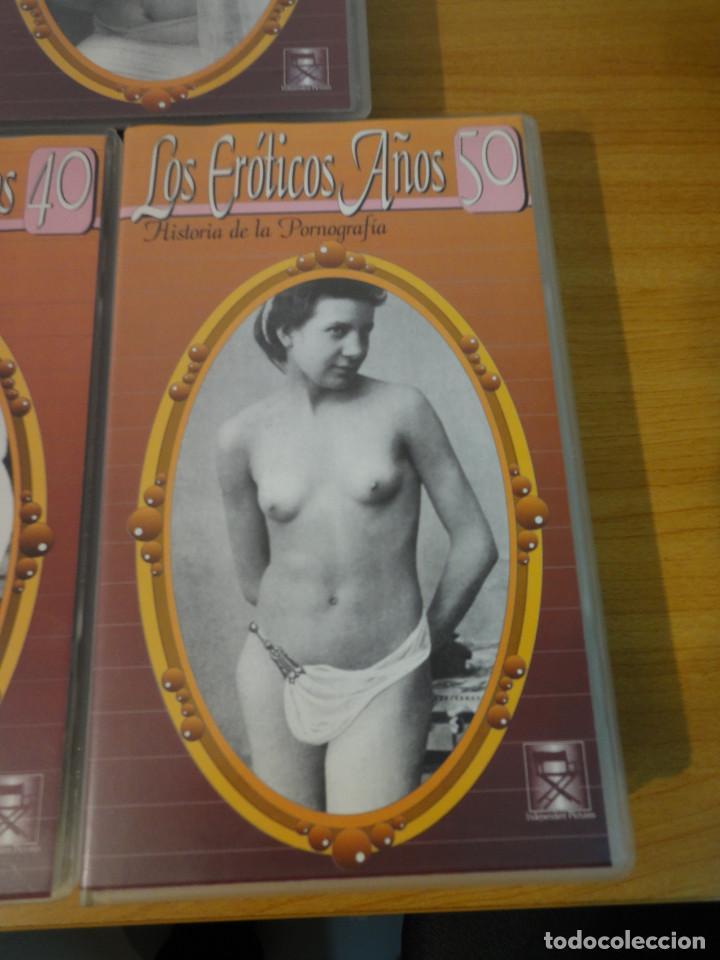 Peliculas: VHS. Historia de la pornografía. Los eroticos años 10 al 50 (SAV, Años 90) 5 Cintas - Foto 7 - 160865006