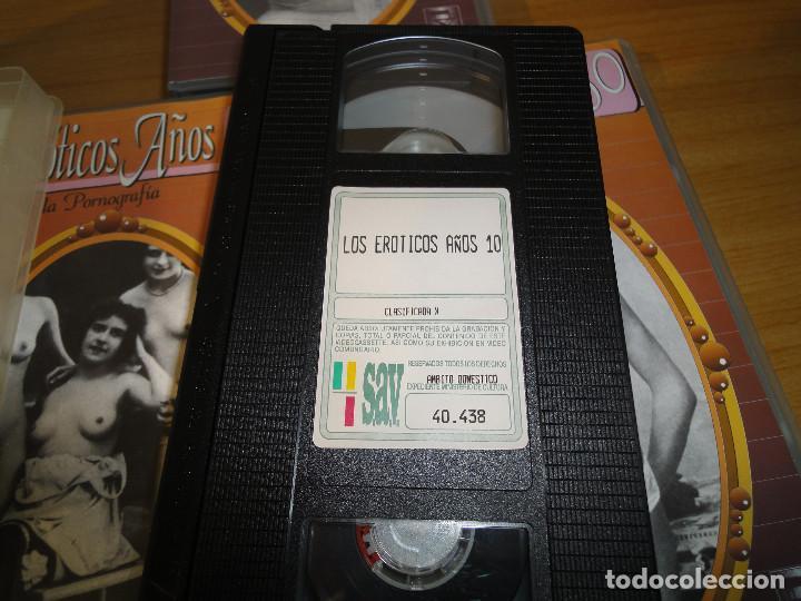 Peliculas: VHS. Historia de la pornografía. Los eroticos años 10 al 50 (SAV, Años 90) 5 Cintas - Foto 9 - 160865006